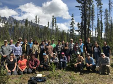 Thanks to all of the participants of the Summer Soil ID Course!
