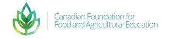2019 Dr. Karl C. Ivarson Agricultural Scholarship