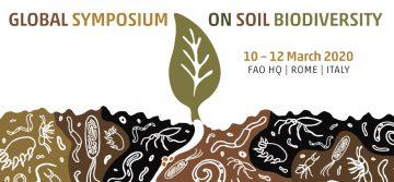 Global Symposium on Soil Biodiversity – March 10-12, 2020