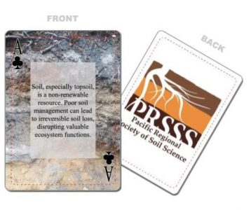 Soil Fact Playing Cards for Purchase